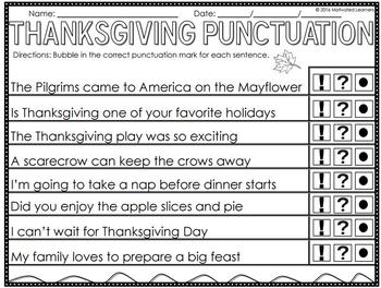 Thanksgiving Activities | Thanksgiving Math and Literacy | November