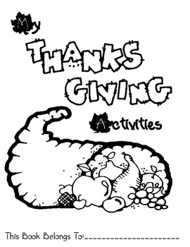 Thanksgiving Packet Cover