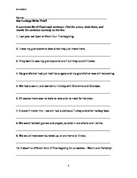 Thanksgiving Packet: ELA Grades 3,4, 5. 18 FUN pages for a short week