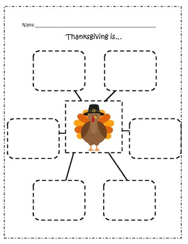 Thanksgiving Pages (Comprehension) for a Fiction and Nonfiction book