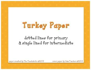 Thanksgiving Paper