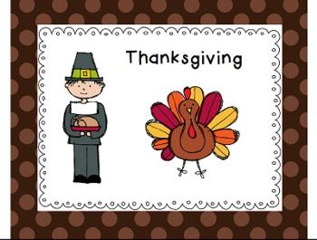 Thanksgiving Paper Activities