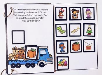 Thanksgiving Parade Interactive Book