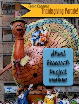 Thanksgiving Parade Short Research Project