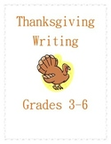 Thanksgiving Paragraph Writing