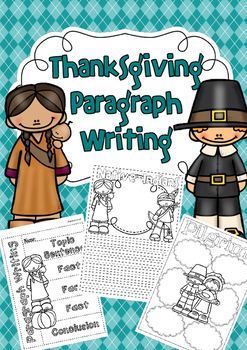 Thanksgiving Paragraph Writing