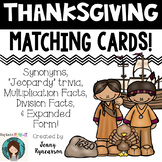Thanksgiving Partnership Slips (or Matching Cards)!!!