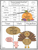Thanksgiving Parts of Speech Literacy Activity: Nursery Crimes by Arthur Geisert