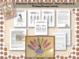 Thanksgiving Parts of Speech & Writing Prompt Trim Your Turkey's Tail Feathers !