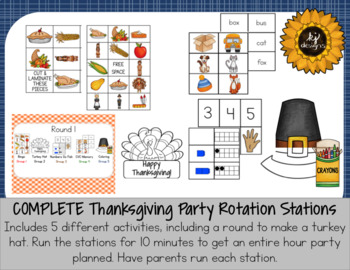 Thanksgiving Party All-In-One Set