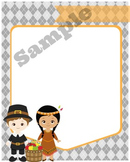 Thanksgiving Party Invitation Template