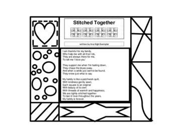 Thanksgiving Patchwork Quilt Poetry -  Heartwarming!