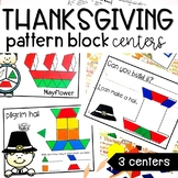 Thanksgiving Pattern Block Math Centers