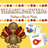 Thanksgiving Pattern Blocks Mats