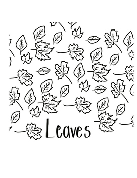 Thanksgiving Pattern Coloring Pages