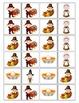 Thanksgiving Pattern Game {Common Core} Kindergarten Mat & Card Activity