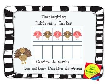 Thanksgiving Patterning Center  Les suites– L'action de Grâce