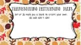 Thanksgiving Patterning Mats (36)