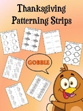 Thanksgiving Patterning Strips