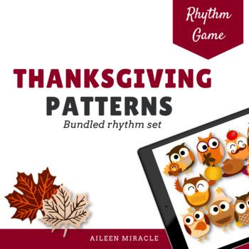 Thanksgiving Patterns {Bundled Set}