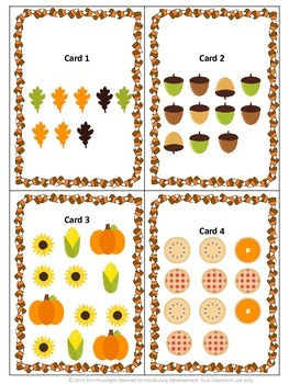 Thanksgiving Patterns Scavenger Hunt