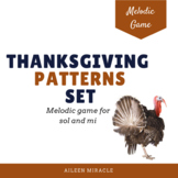 Thanksgiving Melodic Reading Activity {Sol-Mi}