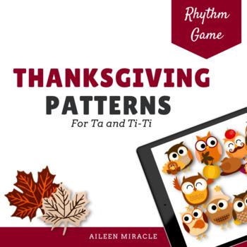 Thanksgiving Patterns {Ta and Ti-Ti}