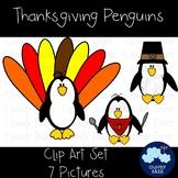 Thanksgiving Penguin Clip Art