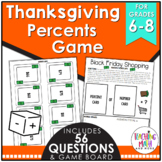 Thanksgiving Percents Game