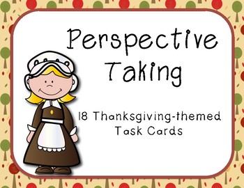 Thanksgiving Perspective Taking