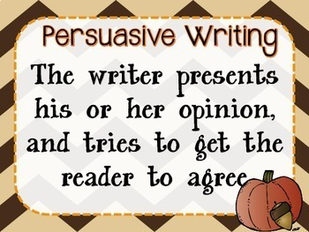 Thanksgiving Persuasive Bundle!