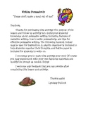 Thanksgiving Persuasive Writing: Don't Make a Meal Out of Me!