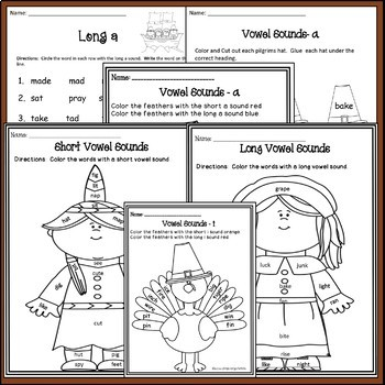 Thanksgiving: Phonics