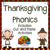 Thanksgiving Phonics and Printable Activities