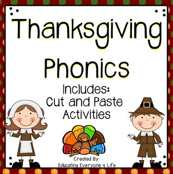 Thanksgiving: Phonics