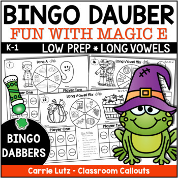Thanksgiving Phonics Dab ~ Long Vowels ~ Magic E