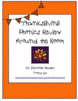 Thanksgiving Phonics Fun!