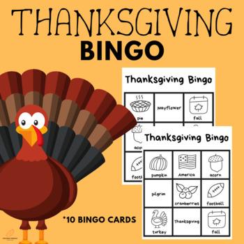 Thanksgiving Picture Bingo! *HOLIDAY FUN*