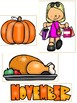 Thanksgiving Picture Match File Folder Game