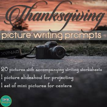 Picture Writing Prompts Thanksgiving