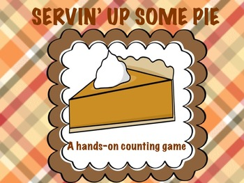 Thanksgiving Counting and Changing Quantities Math Game