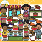Thanksgiving Pie Shop Clip Art