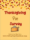Thanksgiving Pie Survey