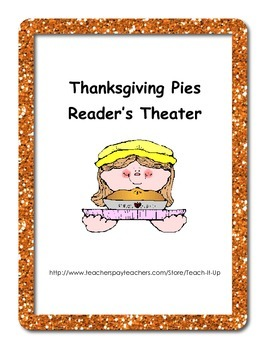 Thanksgiving Pies Reader's Theater