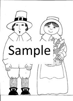 Thanksgiving Pilgrim Boy and Girl