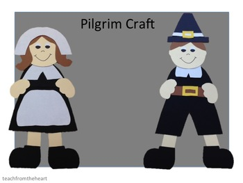 Pilgrim Boy and Girl Craft (A Thanksgiving Craft)