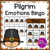 Thanksgiving Pilgrim Emotions and Feelings Bingo