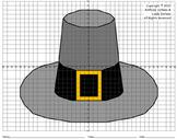Pilgrim Hat Mystery Picture (4-Quadrants)
