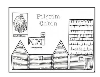 Thanksgiving Pilgrims Cabin