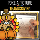 Thanksgiving Pinning: Poke A Picture